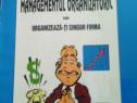 Carte:Managementul organizatoric,1997,Bucuresti,N.Postavaru,