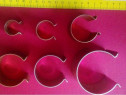 Clipsuri metalice de 30 mm, pentru prindere folie solar