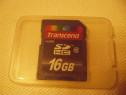 Card SD Transcend 16 gb clasa 10