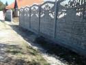 Construim garduri, montaj placi de gard din beton