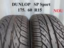Cauciucuride vara 175 60 R15 Dunlop profil 8 mm 100%