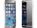 Folie Sticla iPhone 6 iPhone 6s Tuning SILVER Oglinda Fata+S