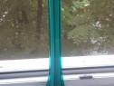 Vaza superba veche, verde-smarald art nouveau