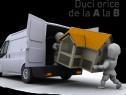 Transport mobila,moloz,diverse
