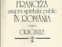 Influenţa franceză asupra spiritului public în România