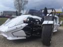 Car Triker Ztr 250cc Legal-City Nou,Garantie Culoare:Alb