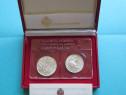Set monede comemorative argint - San Marino, 1991 - FDC