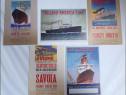 5 carti postale de colectie - nave maritime transatlantice 2