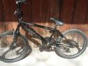 Bicicleta bmx negru