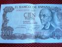 100 cien pesetas din 17 noiembrie 1970 bancnota