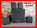 Sistem audio 4.1 Philips boxe subwoofer difuzoare sateliti