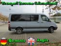 Transport persoane Romania - Germania - Romania