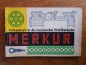Carte constructii Merkur tip Mecano / C3P