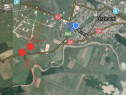 2 parcele extravilane 17500 si 12500 mp cu deschidere la DN2