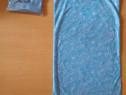 Bandana cagula masca esarfa pt bicicleta munte moto bleu