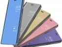 Huawei Mate 10 Lite - Flip Case Clear View Negru Albastru Au