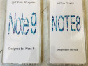 Samsung note 9 note 8 - husa 360 plastuc fata su spate trans