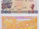 Lot 3 bancnote GUINEEA 2010-2012 - unc
