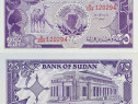 Lot 8 bancnote SUDAN 1987-1993 UNC