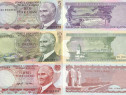Lot 19 bancnote TURCIA 1975-2017 - UNC