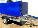 Inchiriez remorca auto 2m 750 kg cu prelata