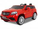 Masina Electrica pentru 2 copii Mercedes GLS63 AMG 4x4, RED