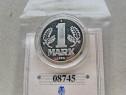 A186-UNC-Moneda 1 Marca DDR 1980 aniversare 1949-1990.