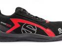 Pantofi protectie S1P,SPARCO,rosu cu negru,Sport Evo,moderni
