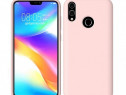 Husa telefon silicon huawei p smart 2019 liquid rose nou