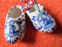 Cadou inedit-vintage miniatura Delft Shoe Royal-Olanda