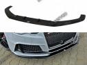 Prelungire splitter bara fata Audi RS3 8VA Sportback v2