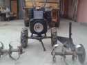 Motocultor Lombardini 10cp, diesel