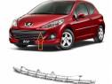 Grila Bara Fata Superioara Am Peugeot 207 2009-2013