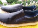 Pantofi piele Pasito mar 44(28.5 cm)