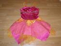 Costum carnaval serbare zana fluture 6-7 ani