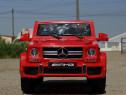 Masina Mercedes G63 12V Recomandat 2-8 ani, cu LED, Music pl