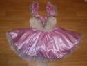 Costum carnaval serbare rochie dans balet gala 7-8 ani