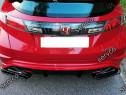 Prelungire splitter bara spate Honda Civic 8 Type-R GP v8