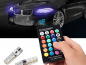 LED multicolor auto cu telecomanda