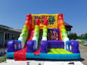 Doublle slide SPLASH! Gonflabile copii! topogane!