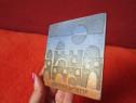 Placa ceramica vintage -suvenir Ierusalim '60-'70 -hand made