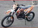 Moto Cross BEMI Hurricane 150cc Off-Road Portocaliu