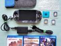 PlayStation VITA - PS VITA card 4 GB modată husă și jocuri
