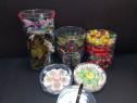 Cutii rotunde din plastic transparent diametru 15.7-16.5cm
