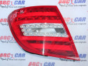 Stop stanga LED Mercedes C-Class S204 Facelift A2048204664