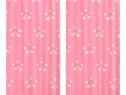 Draperii opace copii, 2 buc., curcubeu, roz, 133548