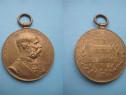 4667-I-Medalie Franz Joseph Signum Memoriae-50-lea jubileum.