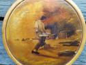 Painea - pictura pe blat de lemn