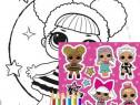 Lol Surprise set pentru colorat