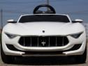 Masinuta electrica Maserati Alfieri echipata STANDARD #Alb